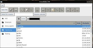 linux screenshot, file manager screenshots, linux file managers