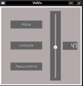 volume control linux, puiseaudio volume control