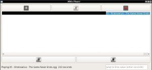 python music player, python linux, python linux music