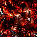 red wallpaper, abstract wall, abstract desktop wallpaper