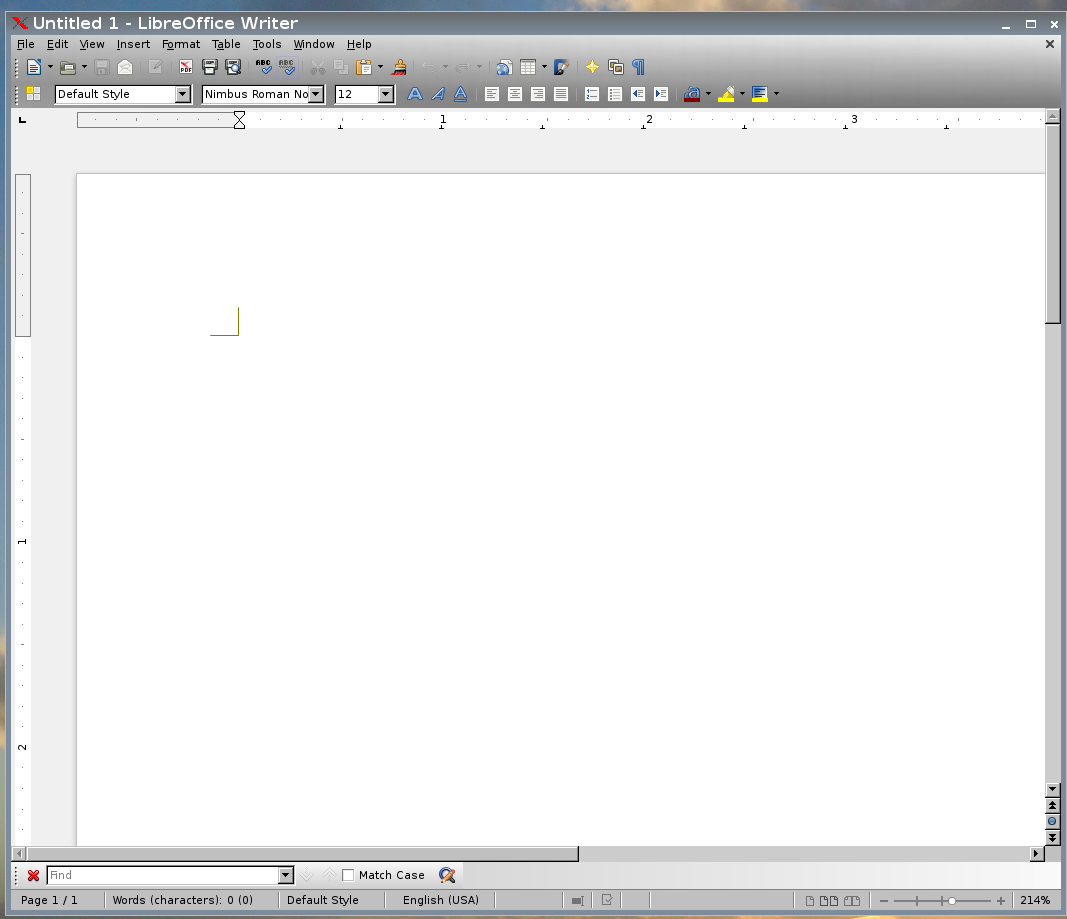 Libreoffice using Firefox persona. You can see the most obvious change when you look at the toolbar.