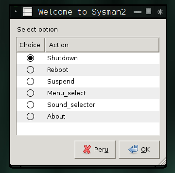 Sysmanager 2 will take over common tasks.
