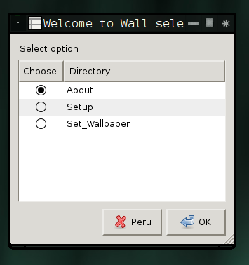 Wall selector makes its official debut in 0.1.4.