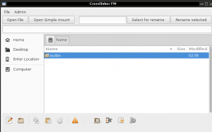 Linux file managers, Crosslinker FM