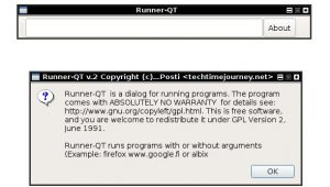 runner dialog linux, linux gmrun alternative, linux run dialog, linux runner for programs