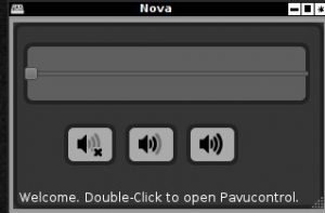 linux sound applet, linux sound. linux volume programs