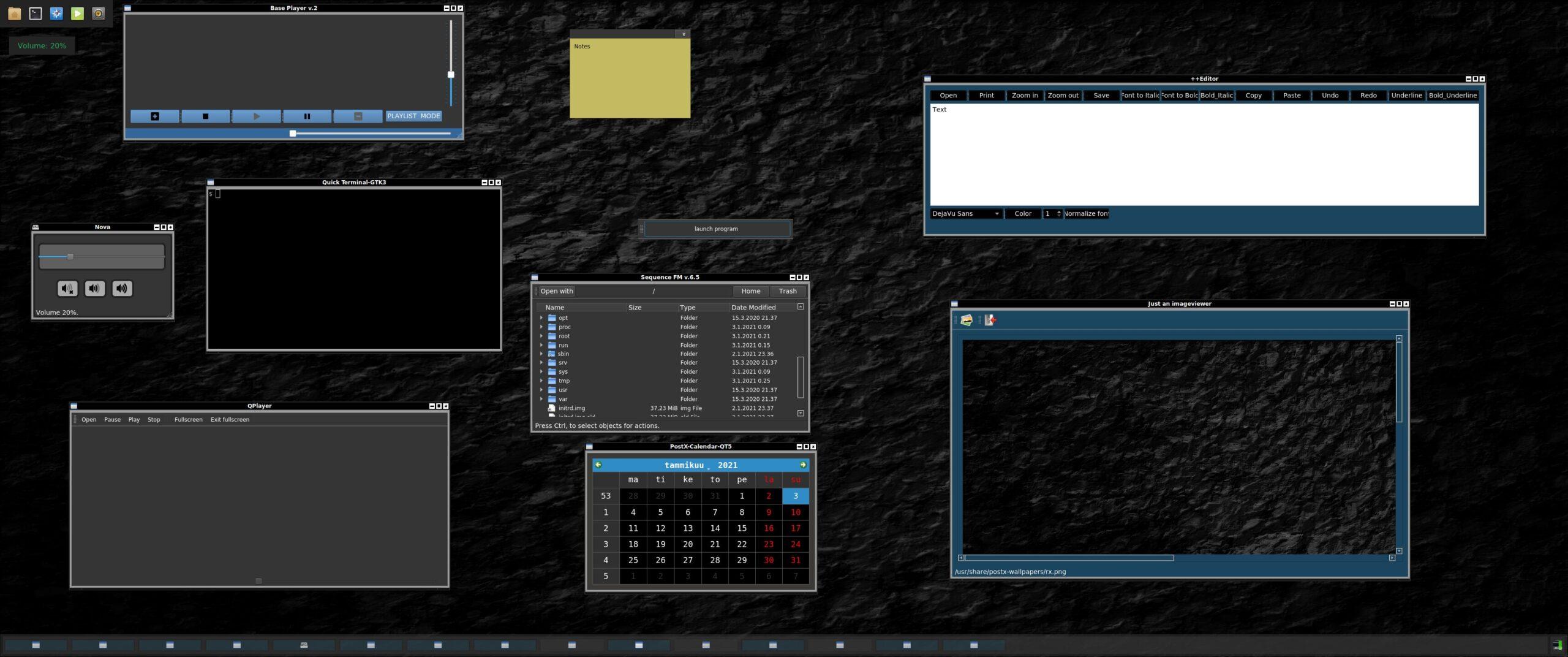 PostX Gnu/Linux 0.7